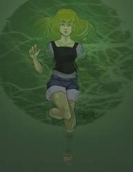 Mermaid Swamp by Caiwin