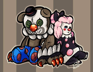 Circus Pals by Caiwin