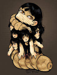 Tomie by Caiwin