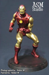 Classic Iron Man Painted 01 by ASM-studio