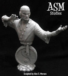 Master of Kung-Fu Mini Bust