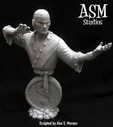 Master of Kung-Fu Mini Bust