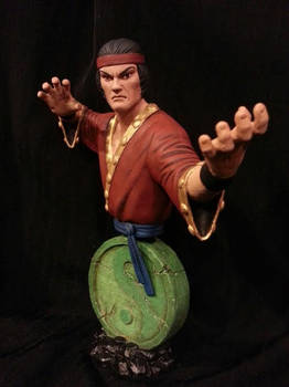 Master of Kung-Fu Mini Bust (Painted)