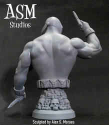 CROSSBONES MINI BUST 04 by ASM-studio