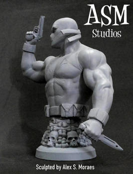 CROSSBONES MINI BUST 03