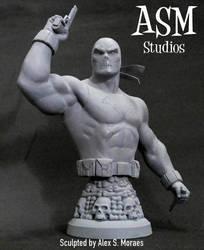 CROSSBONES MINI BUST 02 by ASM-studio