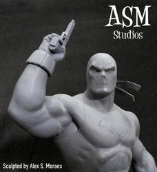 CROSSBONES MINI BUST 01 by ASM-studio