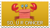 CANCER by faiis
