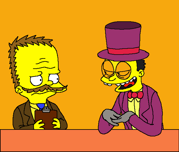 Just like the Simpsons by sharpjet