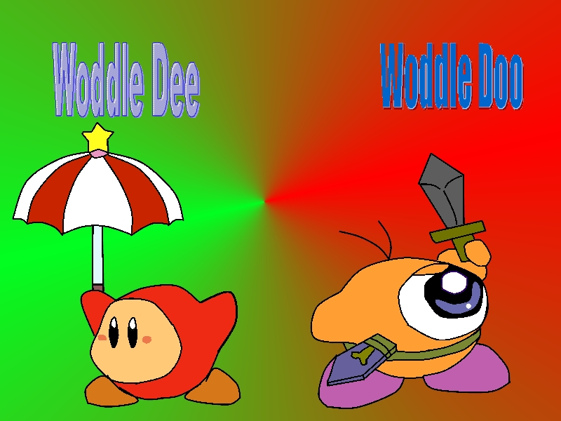 Waddle dee and waddle doo by KirbyObliviation on deviantART Waddle Dee And Waddle Doo