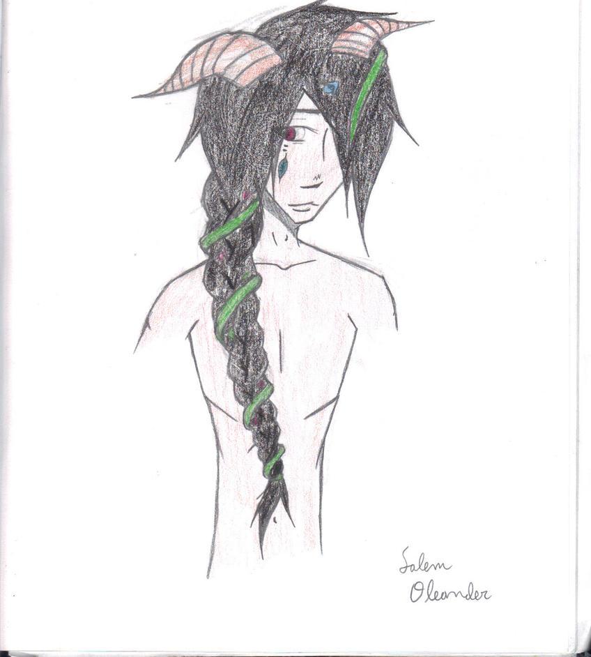 Salem Oleander by mossycat101
