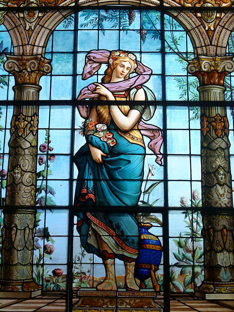 Stained glass window by iroh san on deviantart for Art glass windows