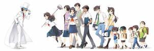 Detective Conan by KazuhaToyama