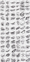Eye reference stylized