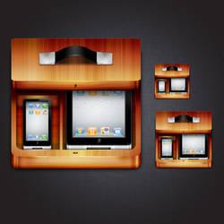IOS Icon Model by dunedhel
