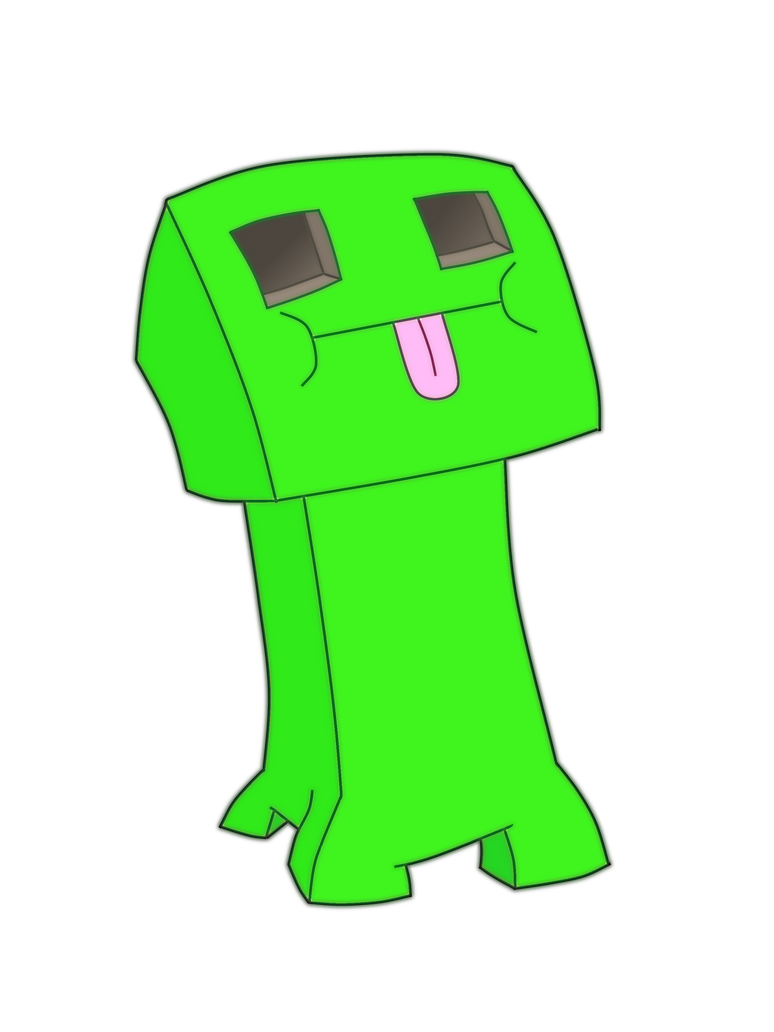 Minecraft creeper face by h bong on deviantart minecraft creeper face by h bong voltagebd Image collections