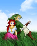 Link x Malon