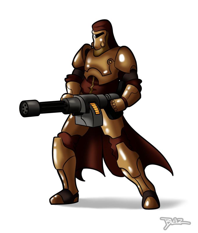 Xasheen Warrior by Blazbaros