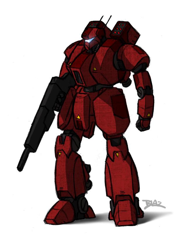 Condor-X Combat Armour by Blazbaros