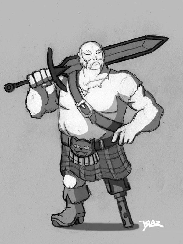Samurai Jack ScotsmanSamurai Jack Scotsman
