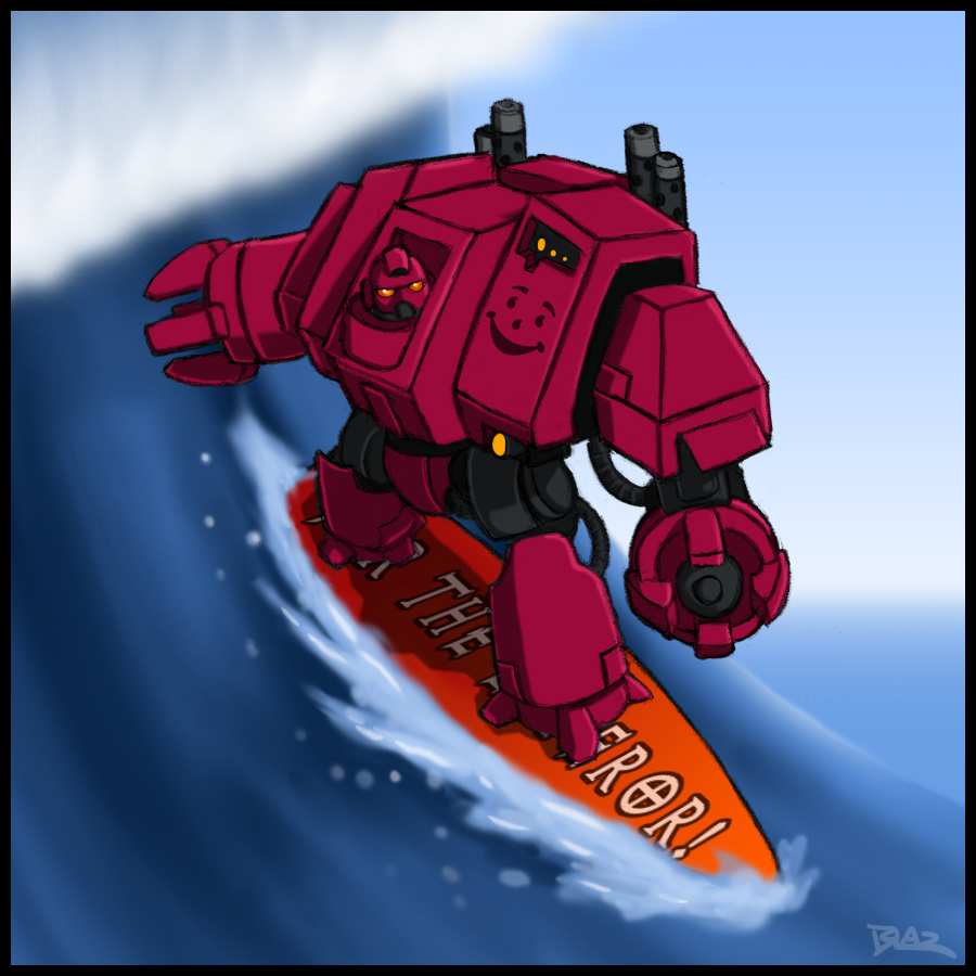 [Humour 40K] Collection d'images humoristiques - Page 38 Even_in_death_i_still_surf_by_blazbaros-d3izyz9