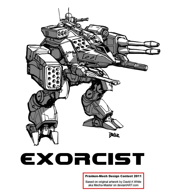 "FrankenMech 1 - ""Exorcist"" by Blazbaros"