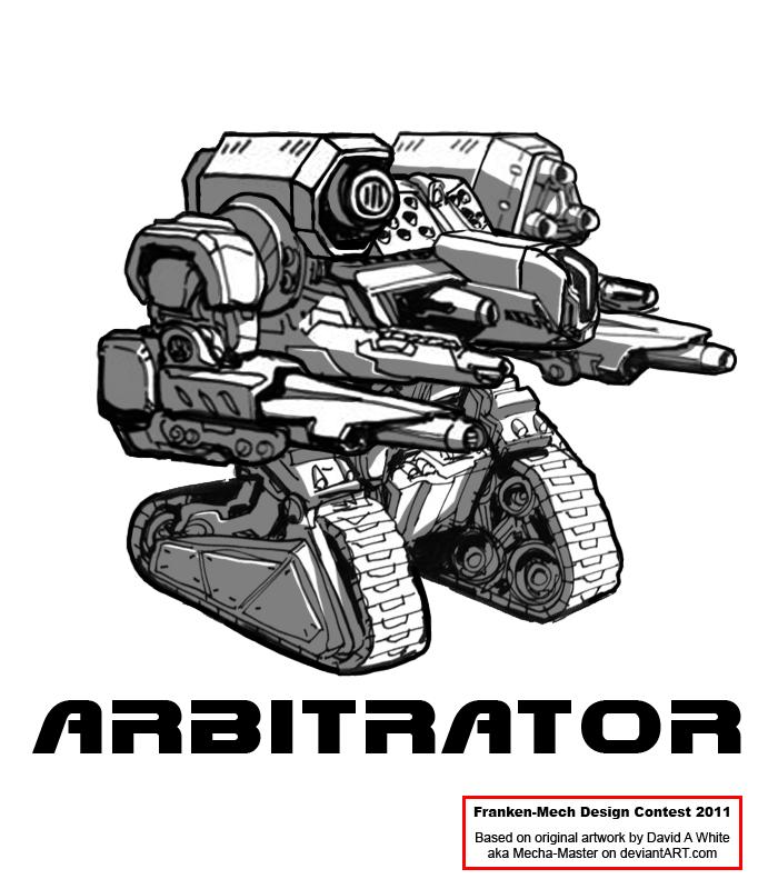 "FrankenMech 2 - ""Arbitrator"" by Blazbaros"