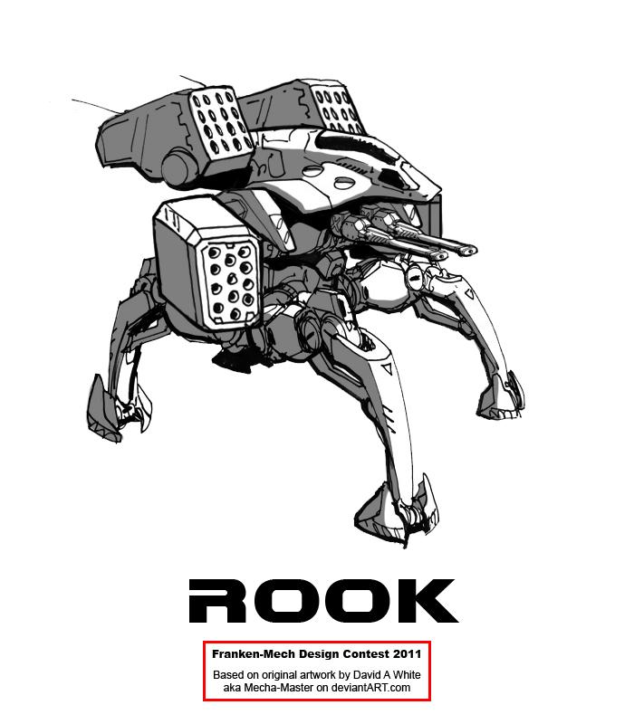"FrankenMech 3 - ""Rook"" by Blazbaros"