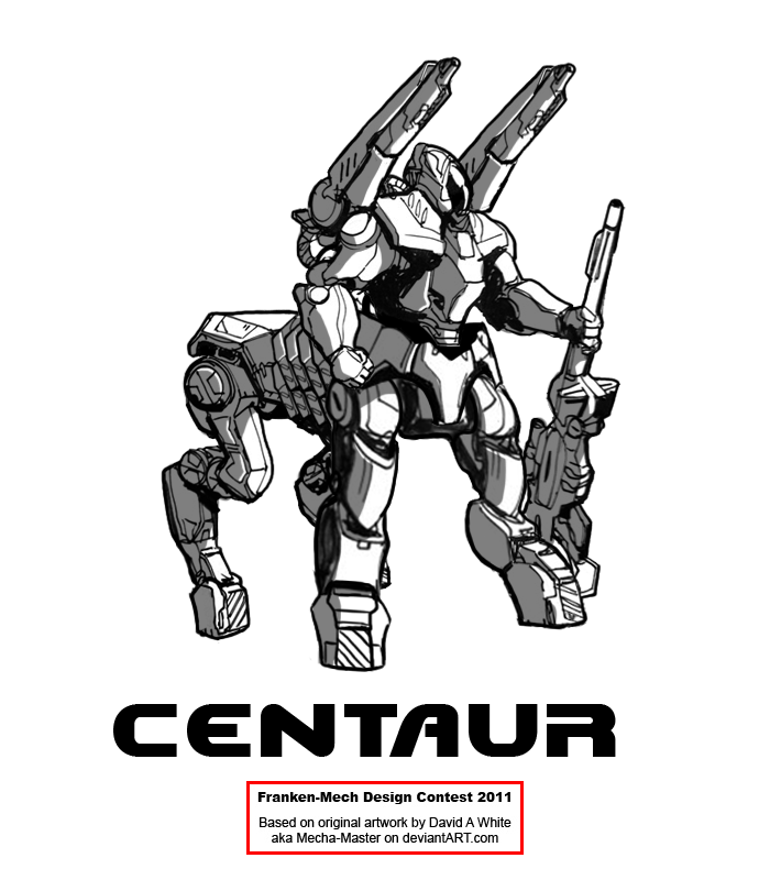 """FrankenMech 4 - """"Centaur"""" by Blazbaros"""