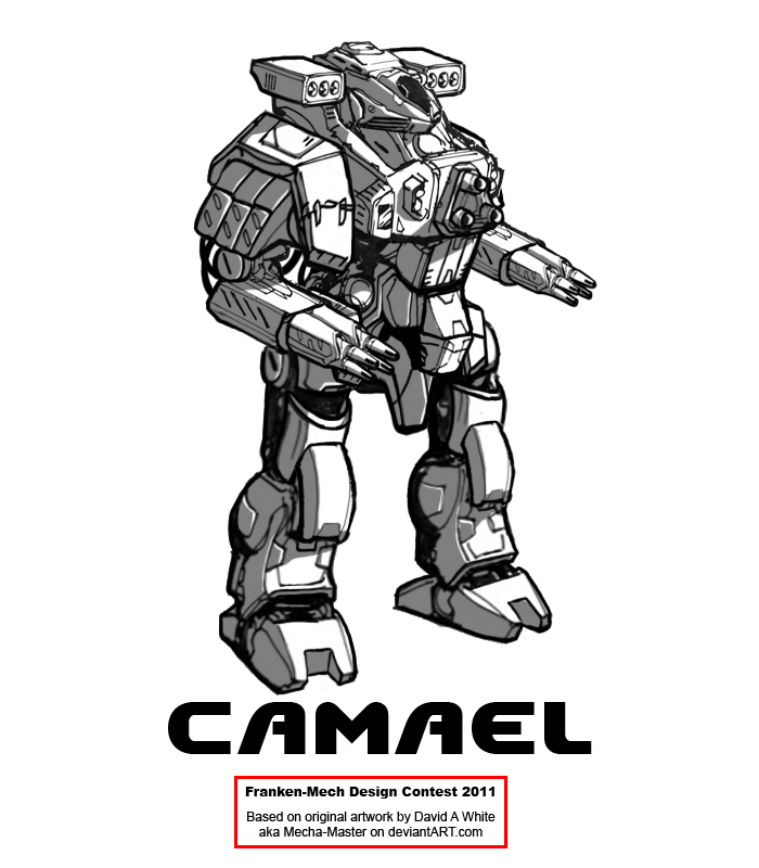 "FrankenMech 5 - ""Camael"" by Blazbaros"