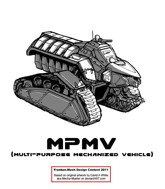"""FrankenMech 9 - """"MPMV"""" by Blazbaros"""