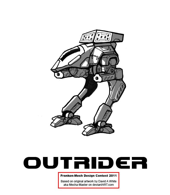 FrankenMech 10 - 'Outrider' by Blazbaros