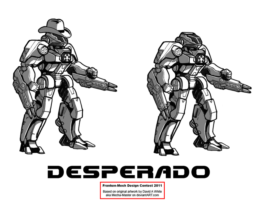 FrankenMech 11 - 'Desperado' by Blazbaros