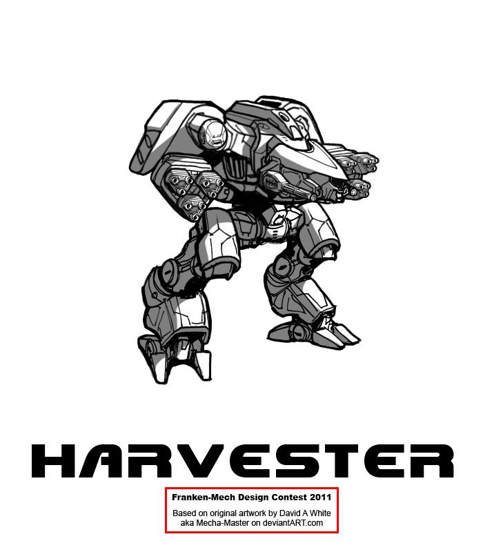 "FrankenMech 12 - ""Harvester"" by Blazbaros"
