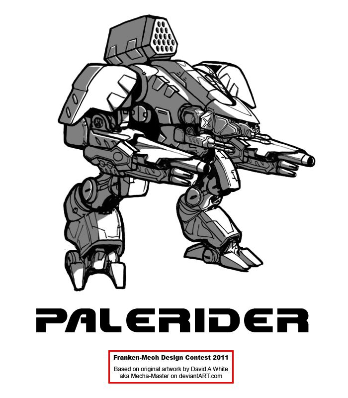 """FrankenMech 14 - """"Palerider"""" by Blazbaros"""