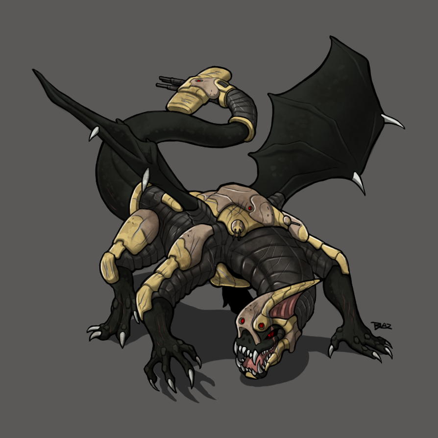 Balrog Class Bio-Monstrosity by Blazbaros