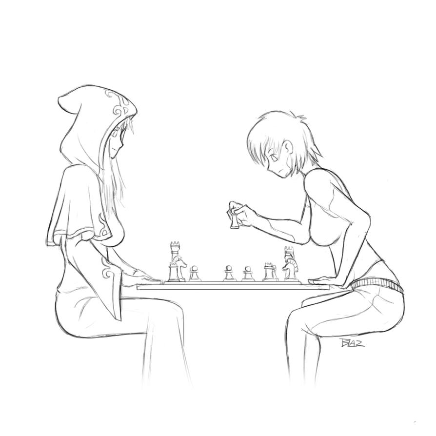 Chess Match by Blazbaros