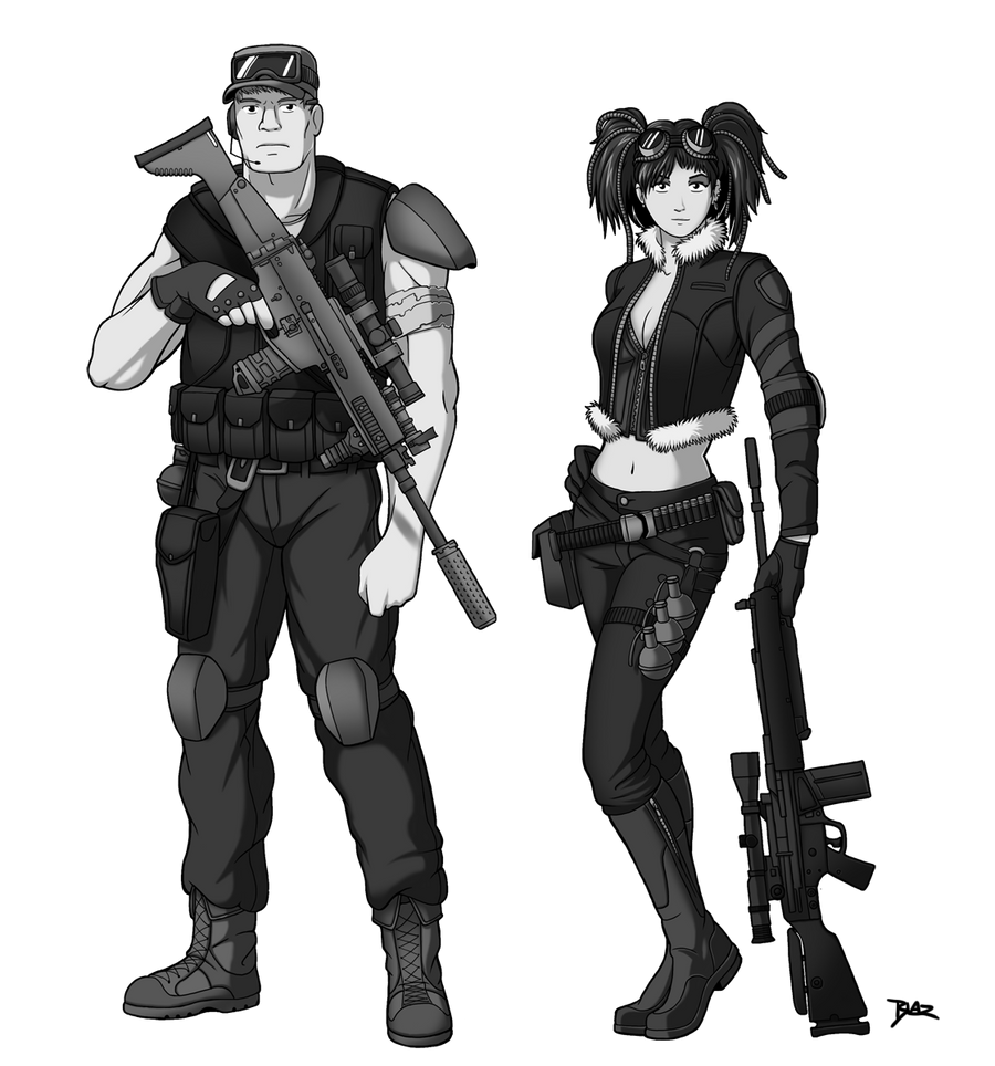 Apocalyptic Soldier Pics: Post Apocalyptic Character Designs By Blazbaros On DeviantArt