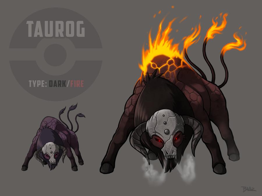 Taurog (Dark/FireTauros) by Blazbaros