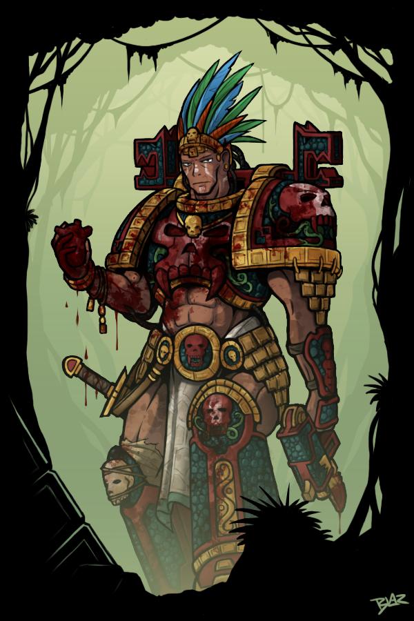 Mayan Marine by Blazbaros