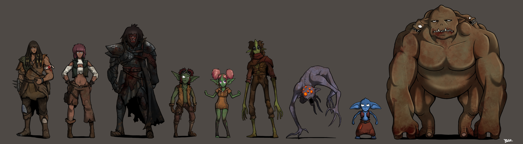 Urth: The Orcoids by Blazbaros