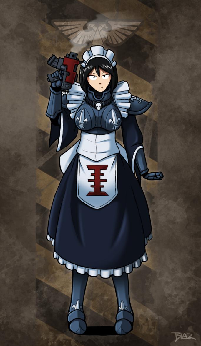 Battlemaid Maxine by Blazbaros