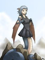 Naga Dragon by Blazbaros