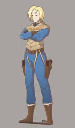 Flight Commander Mira -Luna- Starkiller by Blazbaros