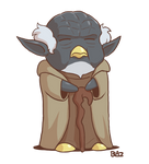 Penguin Yoda
