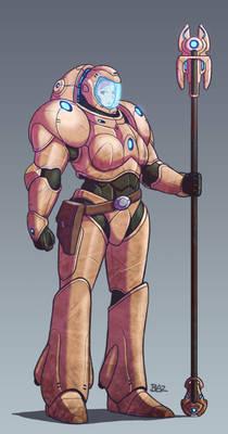 Arcanist Magnus Power Armour