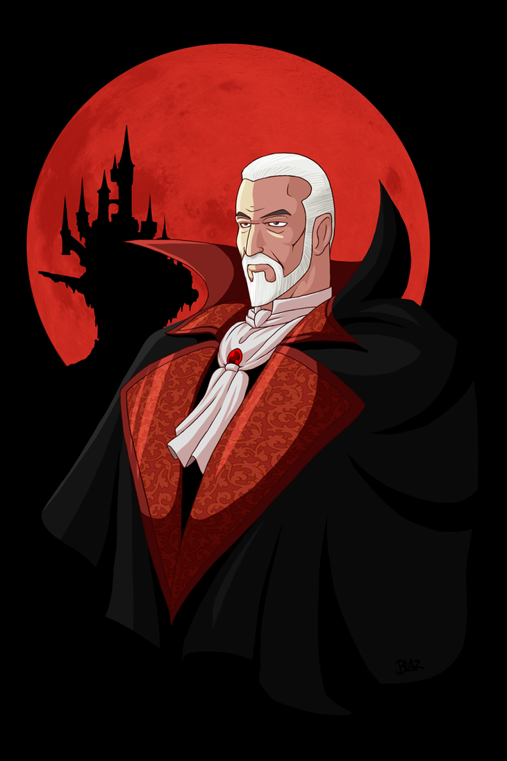 Count Christopher Lee by Blazbaros