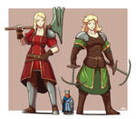 Giant Viking Battle Maidens