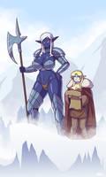 Vhaidra and Celise