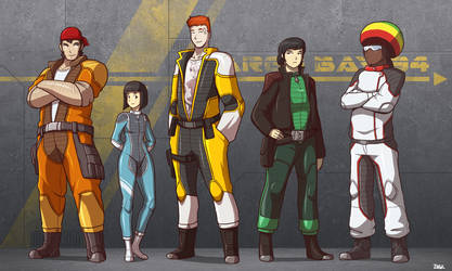 The PAYLOAD Crew by Blazbaros